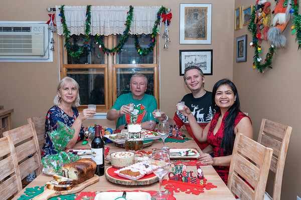 Christmas celebration in the pandemic time - 2020
