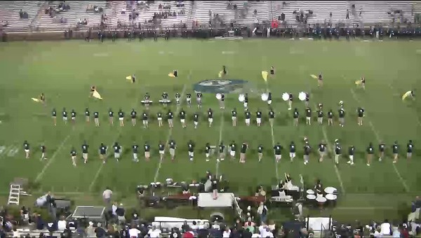 "2008-2009 Marching Band Season Video Performances - ""Mysterium"" Show"