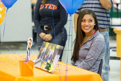 Montwood High School Ruby Sanchez Signing
