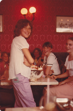 1981 Kyra Bday Party