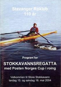 2004 - Stokkavannsregattaen med norges cup