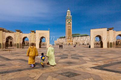 Casablanca Mohammed V Mosque