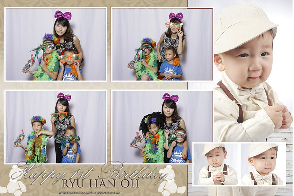 Ryu Han Oh 1st Birthday