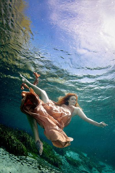Rachel Underwater