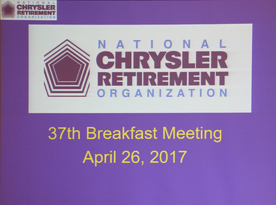 37th Breakfast Meeting April 26, 2017