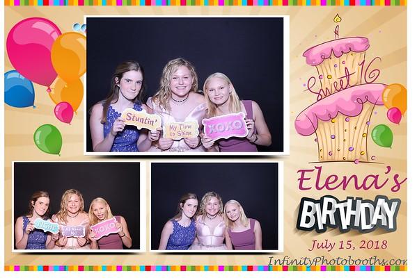 Elena's Sweet 16