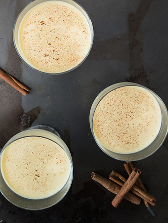 Cuban egg nog