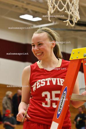 Varsity Girls Sectional Win v CN