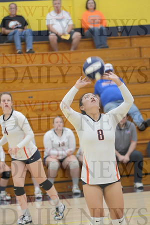 Colfax-Mingo Volleyball at SICL Tourney 10-8-18