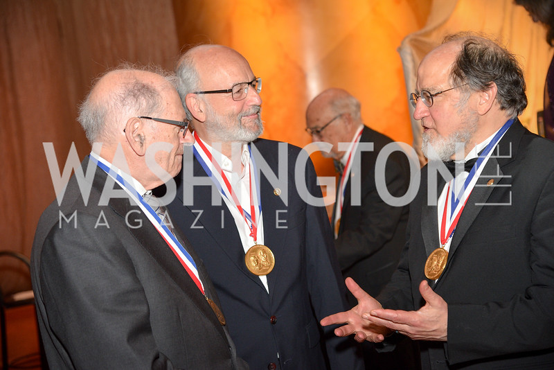 Dr. Bob Kahn, Dr Adi Shamir, Dr. Ronald Rivest, National Inventors Hall of Fame, Induction at the National Building Museum, May 3, 2018-8972.JPG