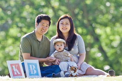 Baek Family 6.18.2011