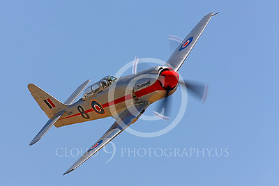 Hawker Sea Fury Dreadnaught Air Racing Plane Pictures