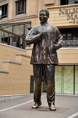 Nelson Mandela Square   December 6, 2013   Standton, Johannesburg, South Africa