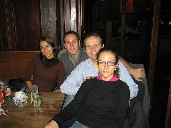 2005.09 Con Ana y David en Bruselas