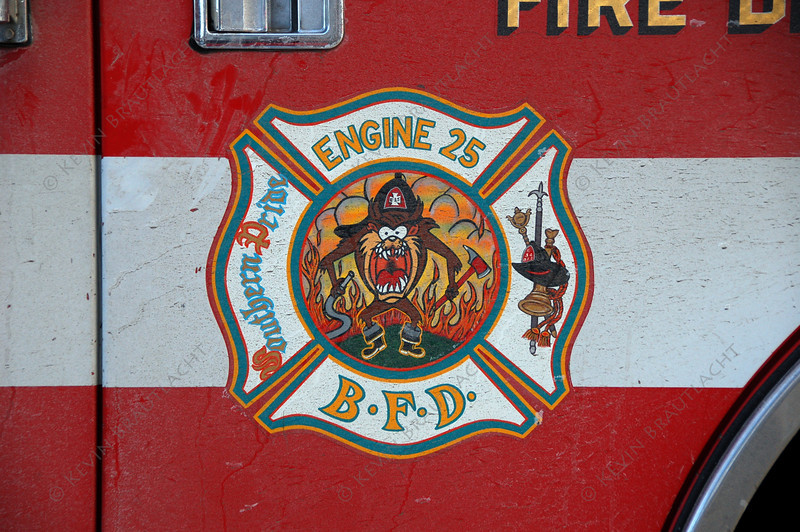 Buffalo Fire Engine 25 logo