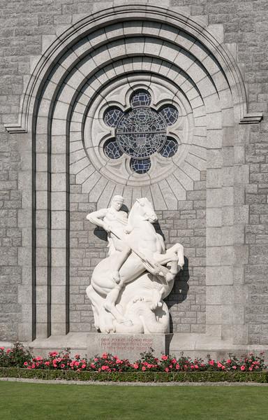 Memorial Chapel statue detail