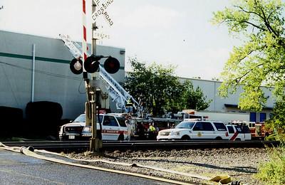 Orangeburg NY  3rd alarm  2005