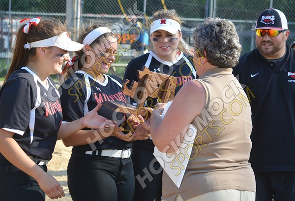 Milford - Silver Lake Softball 6-10-17