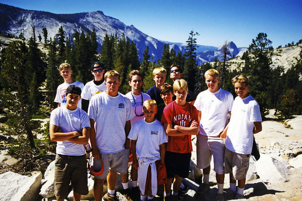 Yosemite trip with Blotter and Phil Taylor