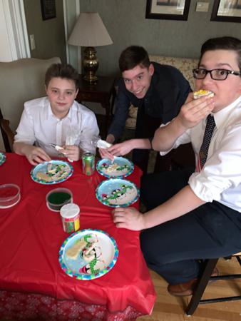 Culinary Club, Christmas Cookies 2019