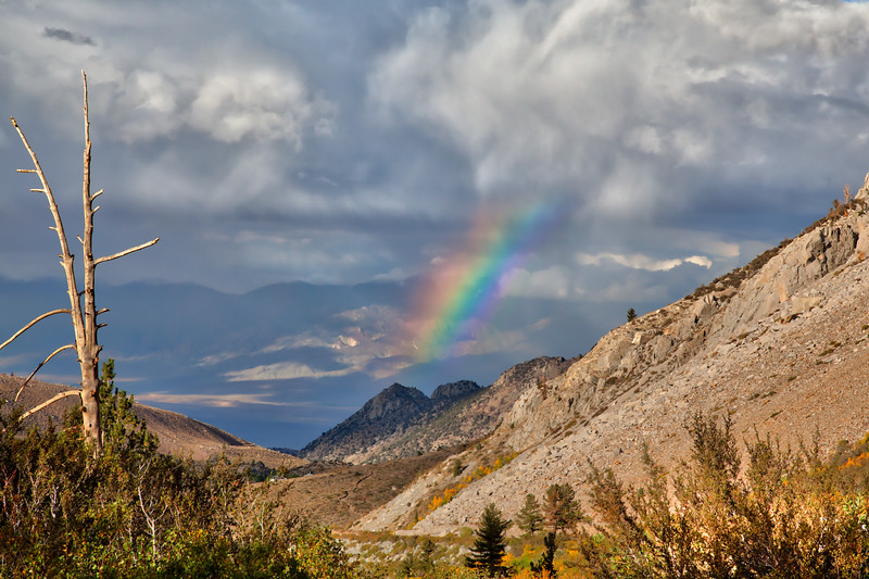The Owens Valley as seen from the Eastern Sierras.