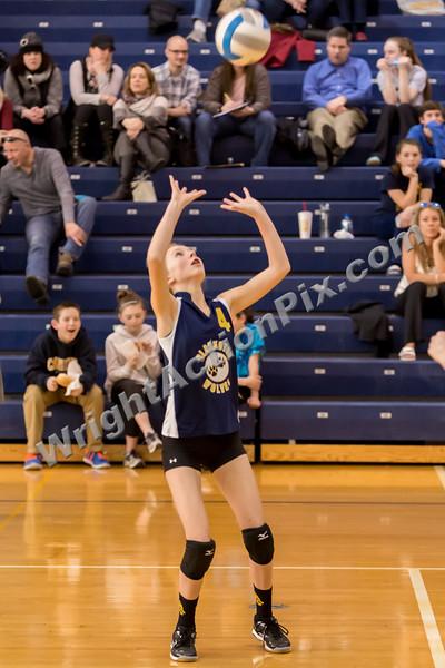 2015/2016 8th Grade CJHS Volleyball