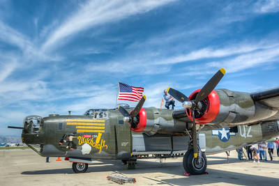 WWII Airplanes Moffett Field May 2016