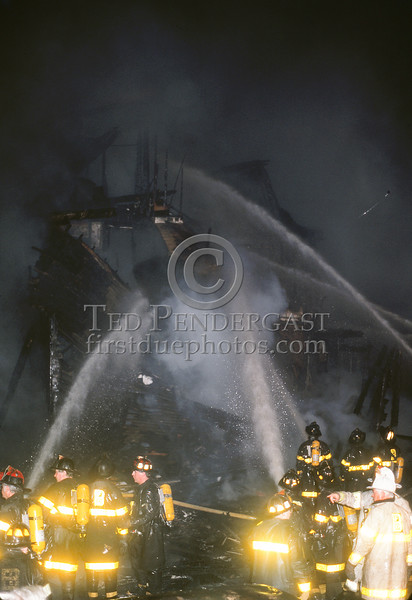 June 26,1987 - Boston,MA - 9 Alarms for a plane crash into houses on Lonsdale Street