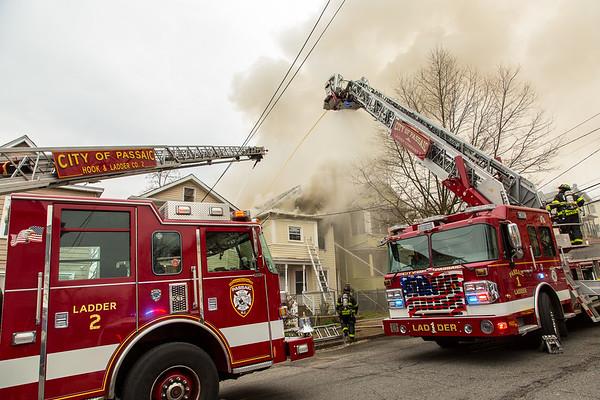 Passaic NJ 3rd alarm, 287 Summer St. 04-05-20