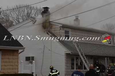 Wantagh F.D. House Fire 2551 Wantagh Ave 3-21-13