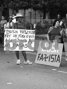 Against the US Embargo to Cuba - May 14, 2004 - Havana