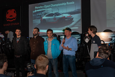 Porsche eSport Championship Russia 2018