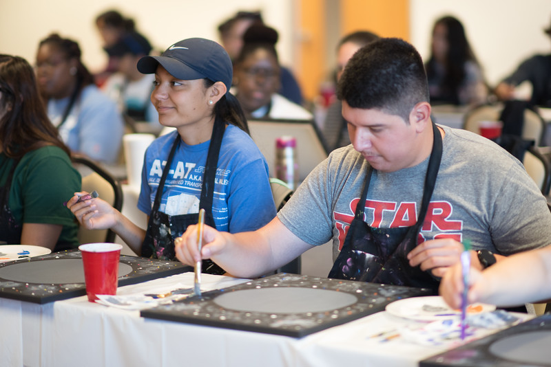 To see all the photos from this event go to: https://islanduniversity.smugmug.com/Events/Events-By-Year/2017/050417-May-the-4th-Be-With-You-Painting-Party