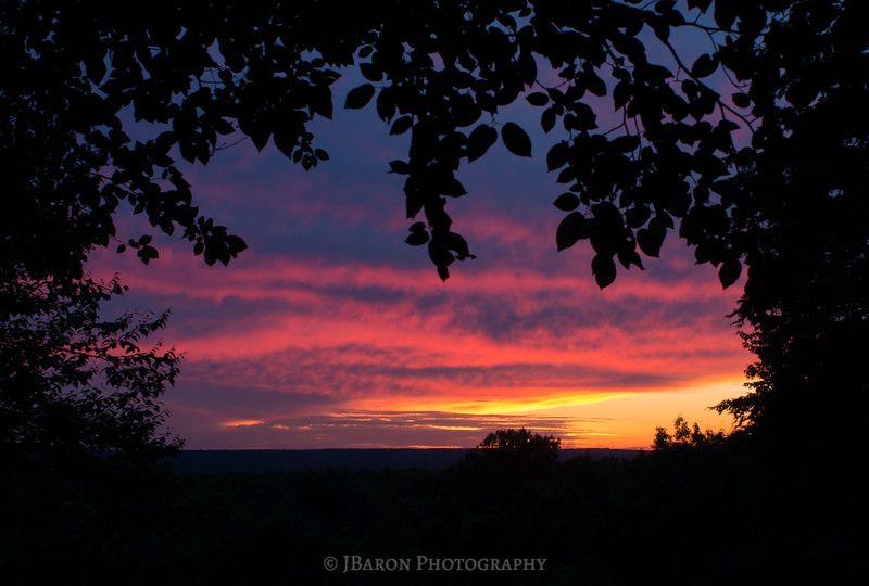 The Ledges Overlook at Sunset II