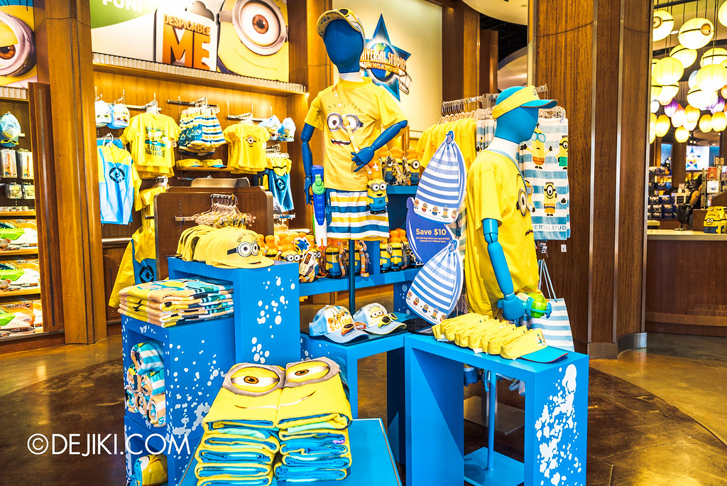 Universal Studios Singapore - Park Update May 2016 / Summer Minion merchandise