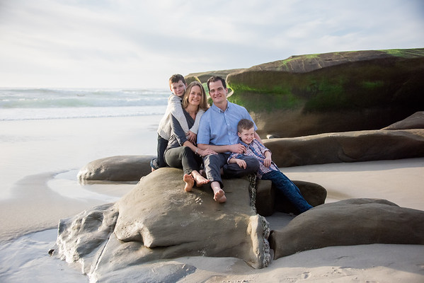 92037 Family Portrait Photographer La Jolla San Diego Beach