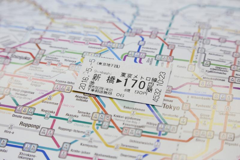 Tokyo Transport. Editorial credit: charnsitr / Shutterstock.com