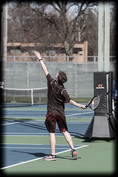 2017 JCA JV Tennis vs LWE