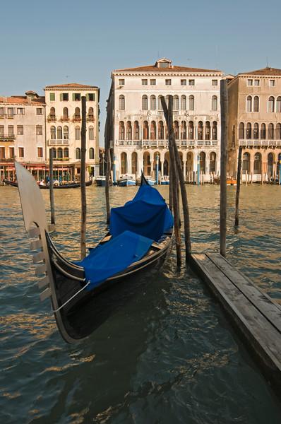 Gondola, Grand Canal, Venice, Italy