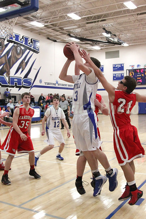 Boys Basketball, Cardinal vs Danville 2/11/2014