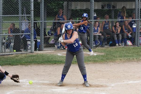 WL softball at BHRV 6-11-18