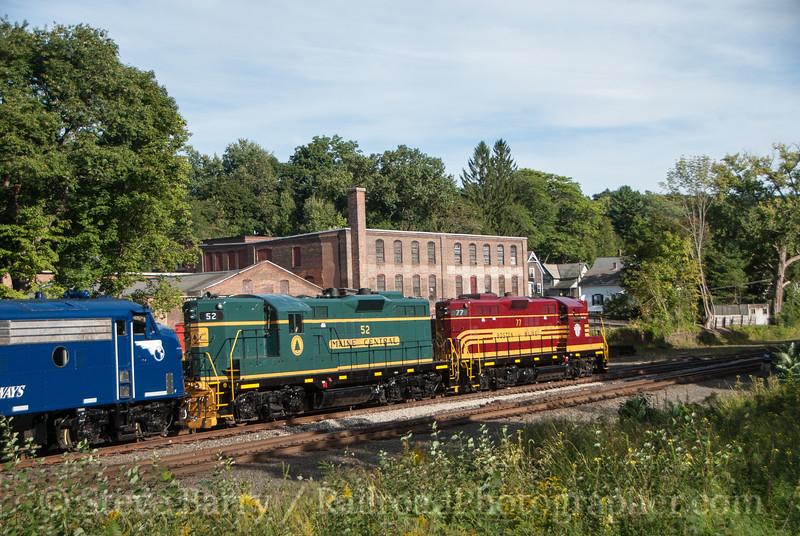 Pan Am Railways<br /> Greenfield, Massachusetts<br /> September 14, 2014