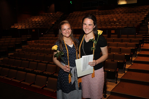 2017 Senior Awards Scholarships, and Proms