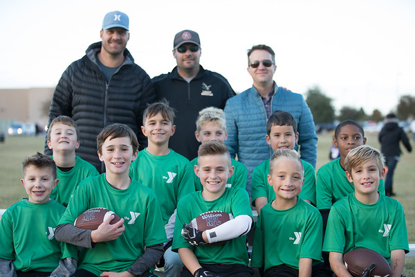2018 YMCA Eagles Flag Football 9U
