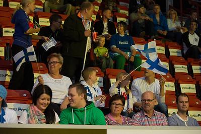 Finland-Poland basketball 5.9.2012