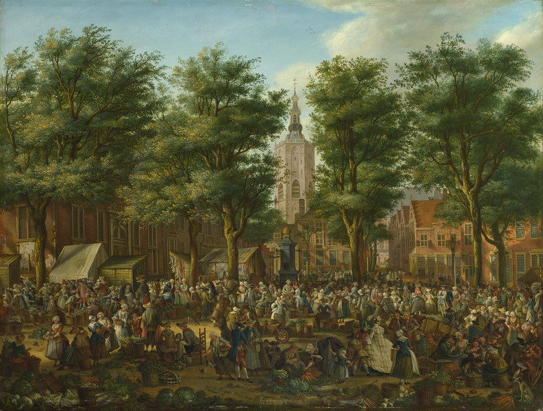 The Grote Markt at The Hague