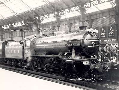3442 The Great Marquess Gresley K4 (Pre 1968 rail tours as a preserved loco)