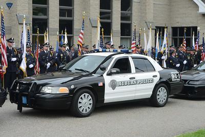 Auburn Police Officer Ron Tarantino - Funeral - 052716
