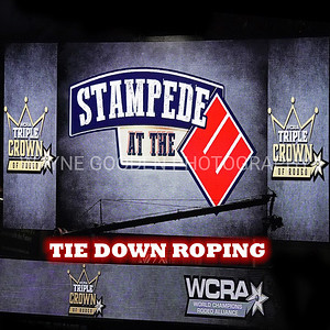 WCRA Tie Down Roping Long Round