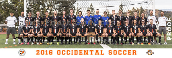 2016 Men's Soccer Team Picture